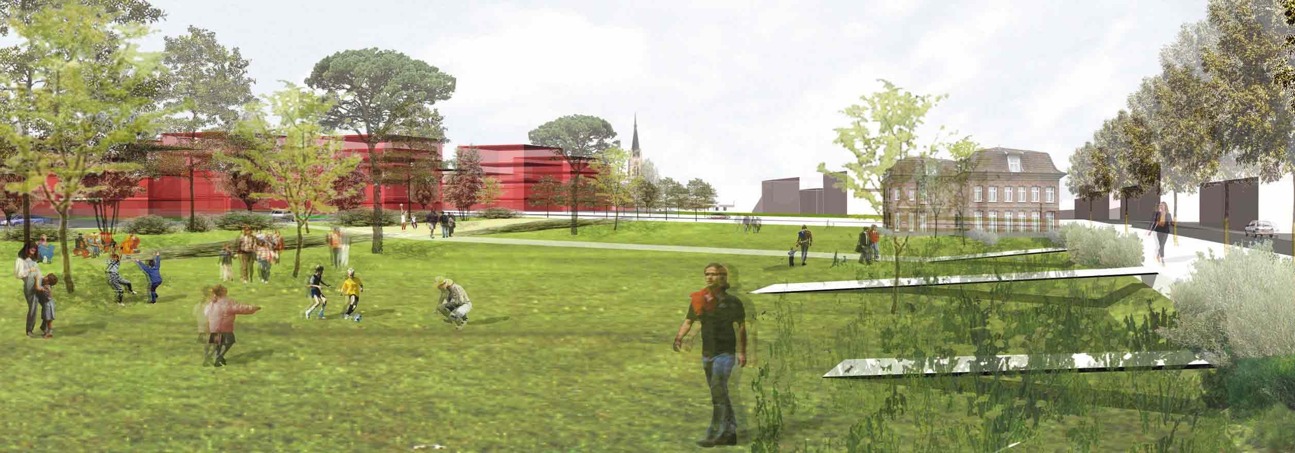 espace vert eco quartier