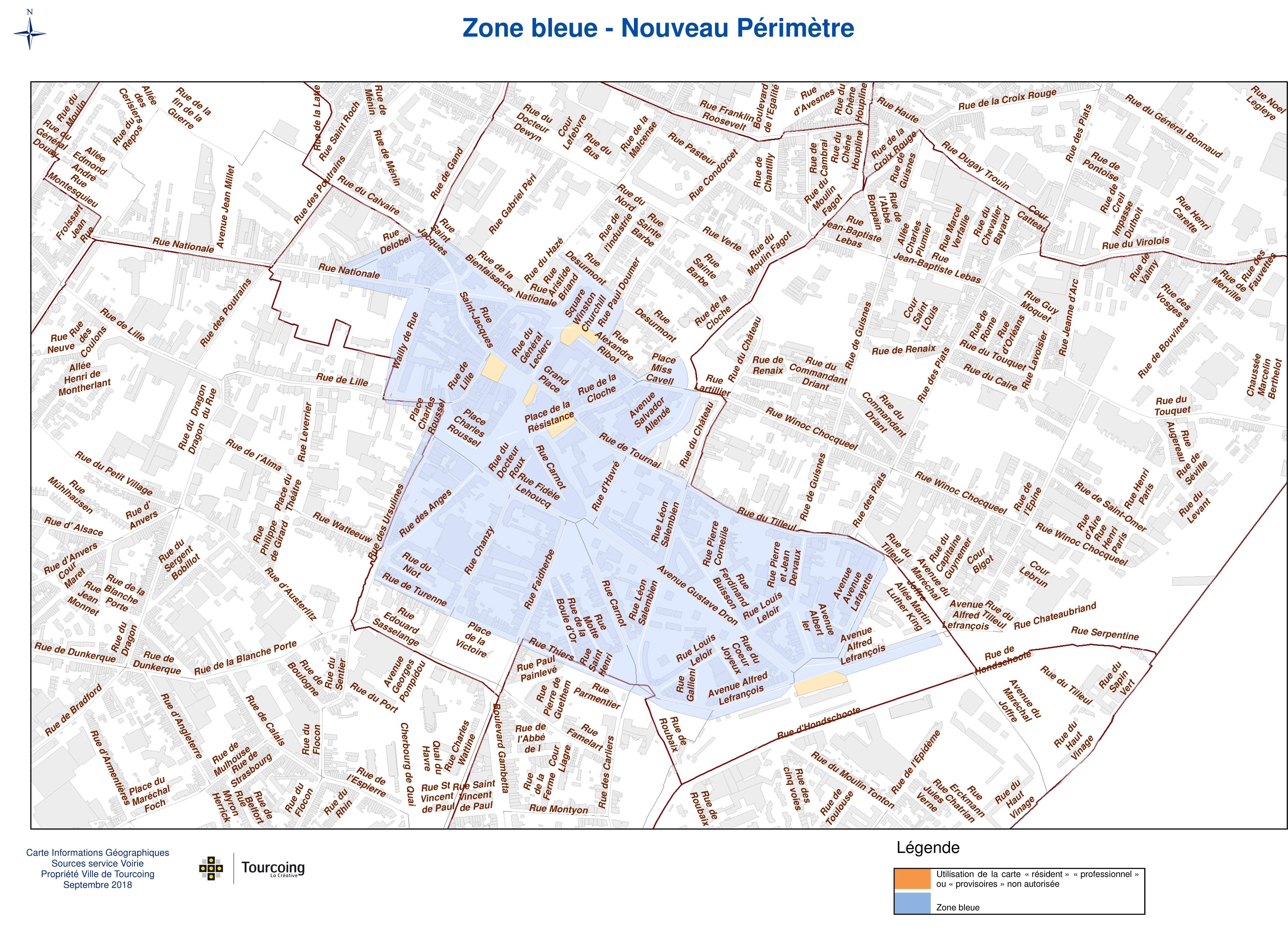 Carte Zone Bleue Tournai.Zone Bleue Actualites Tourcoing